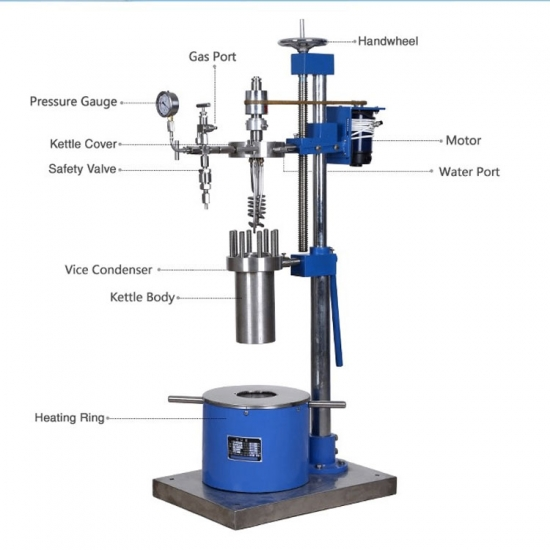 Lab FCF Small High Pressure Reactor