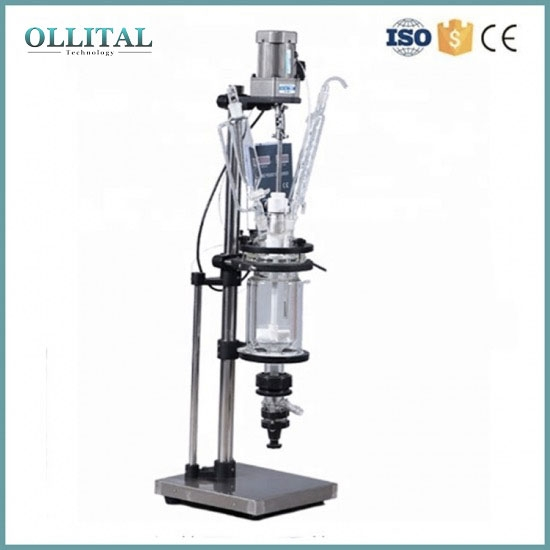 Laboratory Mini Jacketed Chemical Glass Reactor